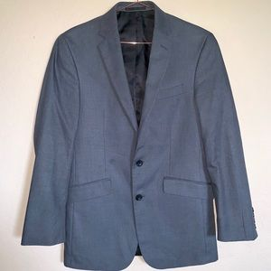 Kenneth Cole Gray 2B blazer size 36R